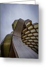 Abstract Of Peoples Gas Pavillon Greeting Card