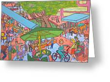 Lincoln Road Flea Market Greeting Card