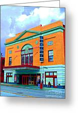 Lincoln Theatre - Dc Greeting Card