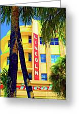 Lincoln Theatre - Sobe Greeting Card