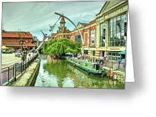 Lincoln Waterside  Greeting Card