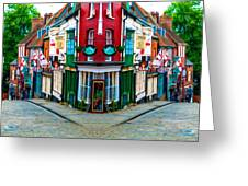 Lincoln's Steep Hill Greeting Card