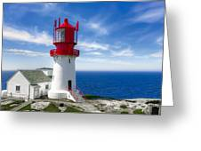 Lindesnes Lighthouse - Norway's Oldest Greeting Card