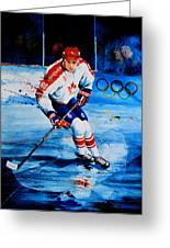 Lindros Greeting Card