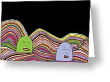 Line Faces - Part 2 Greeting Card
