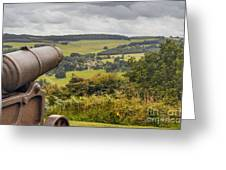 Line Of Sight Greeting Card