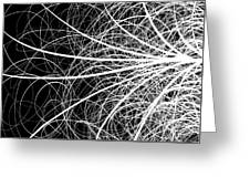 Linear Abstract 2 Greeting Card