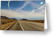 Linear Highlights Greeting Card