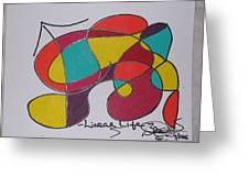 Linear Life Greeting Card