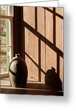 Linear Shadows Greeting Card