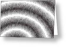Linear Spiral Greeting Card