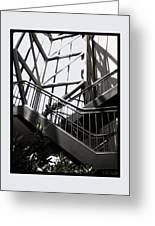 Lined Stairway - 200340 Greeting Card