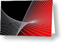 Lines -1- Greeting Card