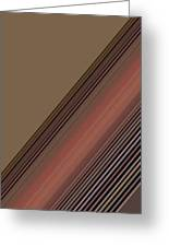 Lines Abstract Greeting Card