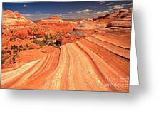 Lines To Magnificence Greeting Card