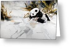 Ling Ling Greeting Card