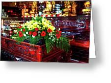 Lingyen Mountain Temple 7 Greeting Card