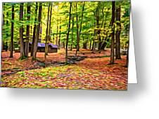 Linn Run Pennsylvania 2 - Paint Greeting Card