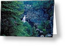 Linville Falls - North Carolina Greeting Card