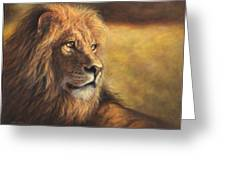 Lion Heart Greeting Card
