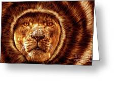 Lion Lady   -1 Greeting Card