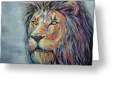 Lion No.3 Greeting Card