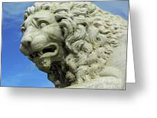Lions Roar Greeting Card