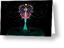 Liquid Art Greeting Card