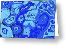 Liquid Blue Dream - V1cbs30 Greeting Card