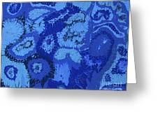 Liquid Blue Dream - V1lle30 Greeting Card
