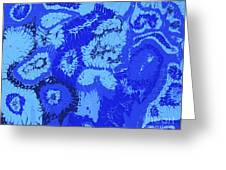 Liquid Blue Dream - V1sl100 Greeting Card