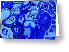 Liquid Blue Dream - V1vhkf100 Greeting Card