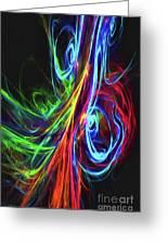 Liquid Neon Greeting Card