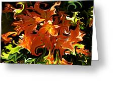 Liquified Greeting Card