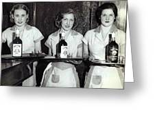 Liquor Is Served - Prohibition Ends 1933 Greeting Card
