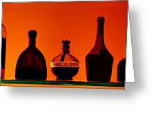 Liquor Still Life Greeting Card