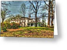 Liriodendron Mansion Greeting Card