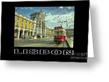 Lisbon  Greeting Card