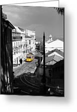 Lisbon Trolley 17c Greeting Card