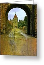 Lismore Castle Gate Greeting Card