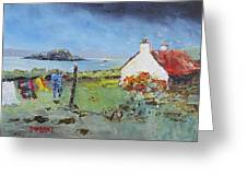 Lismore Island Greeting Card