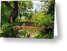 Lithia Park Bridge Greeting Card