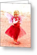 Little Angel Wings Greeting Card