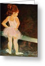 Little Ballerina Greeting Card