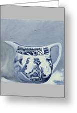 Little Blue Jug Greeting Card