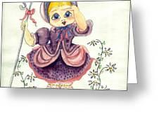Little Bo Peep Greeting Card