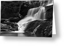 Little Bradley Falls #3 Greeting Card