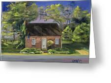 Little Brick House  Greeting Card