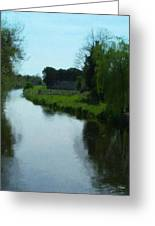 Little Brosna River Riverstown Ireland Greeting Card