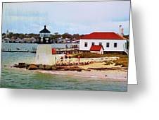 Little Cape Light Greeting Card